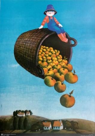 Bez tytułu (kosz zjabłkami)