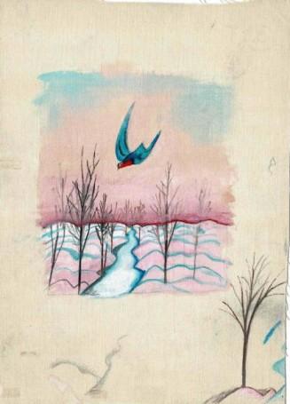 Julian Przyboś, Poezje, projekt ilustracji