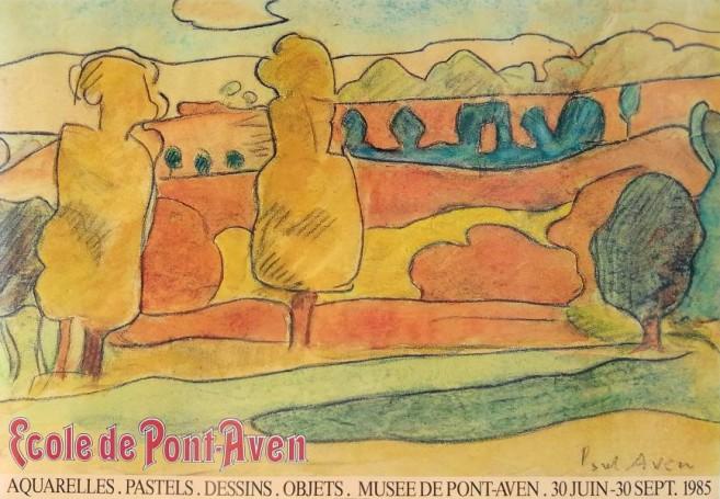Ecole de Pont Aven, 1985 r.
