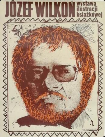 Józef Wilkoń -wystawa ilustracji książkowej, 1980
