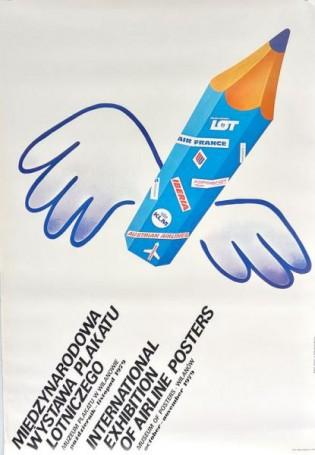 Międzynarodowa wystawa plakatu lotniczego, 1979 r.