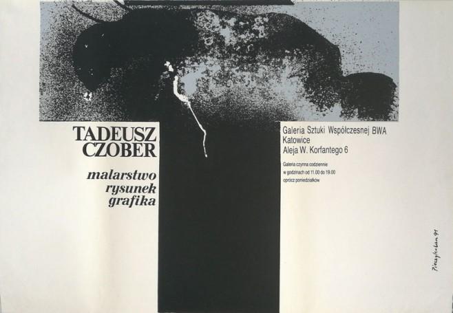 Tadeusz Czober malarstwo rysunek grafika, 1991