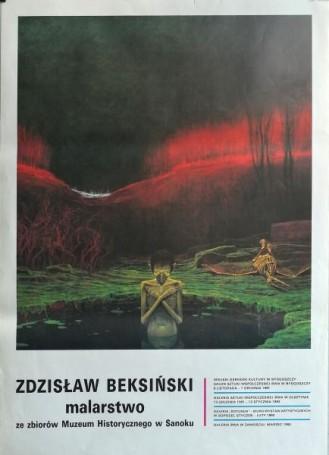 Zbigniew Beksiński malarstwo zezbiorów Muzeum Historycznego wSanoku, 1992 r.