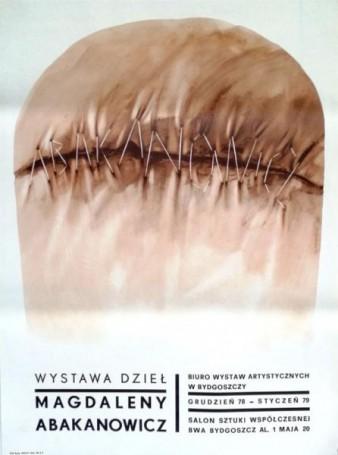 Wystawa dzieł Magdaleny Abakanowicz, 1978