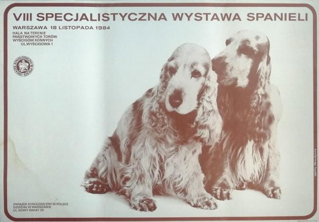 VII specjalistyczna wyastawa spanieli, 1984 r.