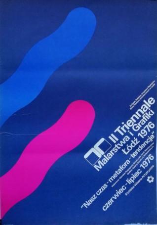 II Triennale Malarstwa iGrafiki Łódź 1976