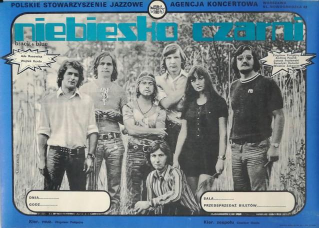 Niebiesko Czarni, 1971 r.