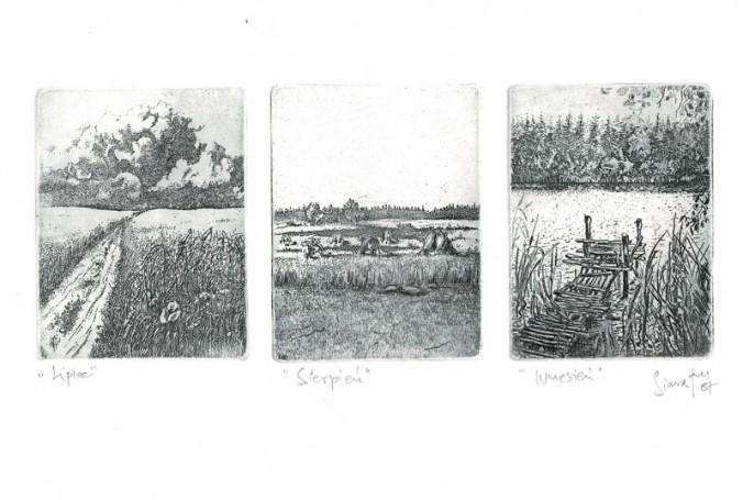Lipiec Sierpień Wrzesień -tryptyk