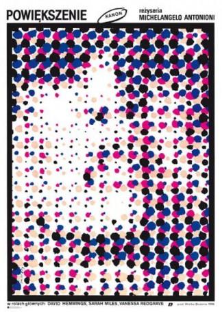 Waldemar Swierzy, Powiększenie / Blow-Up, 1966 (2021), Reprinty Polska Szkoła Plakatu