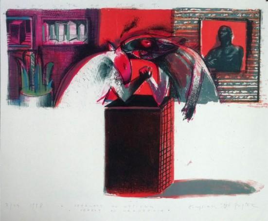 Czerwony od wysiłku, czerwony od urodzenia, 1998 r.