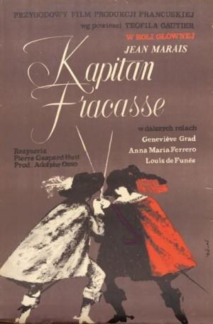 Kapitan Fracasse, 1962 r., reż. Pierre Gaspard-Huit
