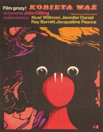 Kobieta wąż, 1969 r., reż. John Gilling