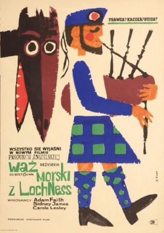 Wąż morski zLoch Ness, 1963 r., reż. Gilbert Gunn