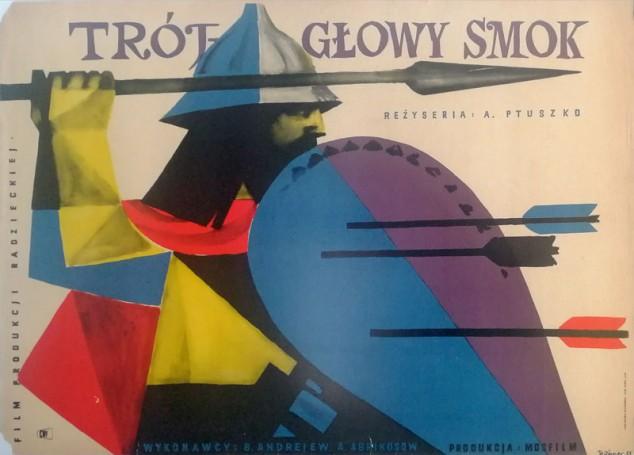 Trójgłowy smok, 1958 r., reż. Aleksandr Ptuszko