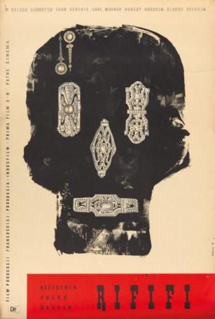 Rififi, 1958 r., reż. Jules Dassin