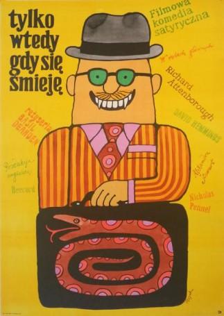 Tylko wtedy gdy się śmieję, 1972 r., reż. Basil Dearden