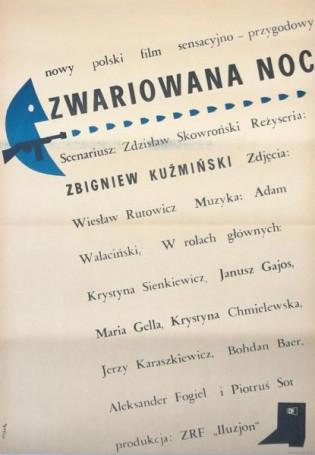 Zwariowana noc, 1967 r., reż. Z. Kuźmiński