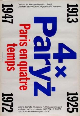 Jan Bokiewicz, 4 x Paryż, 1986 r.