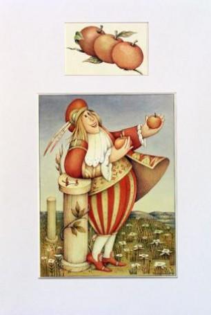 E.Gaudasińska, akwarela, papier