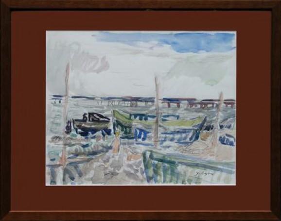 Orłowo -Port rybacki II, 1970 r.