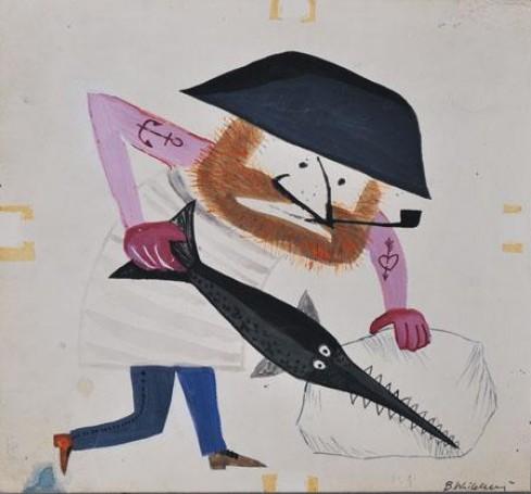 Illustration: Fajka kapitana Pykpyka, 1961