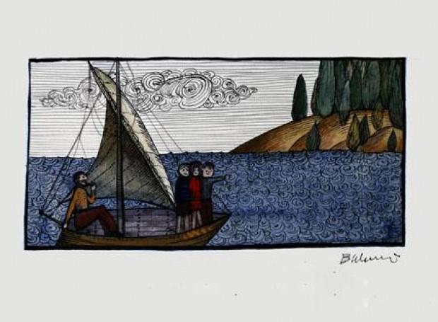 Illustration: Opiracie Rum-Barbari io czymś jeszcze (II edition), 1974