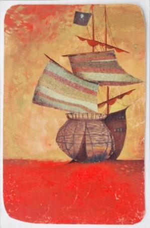 Illustration: Opiracie Rum-Barbari io czyms jeszcze (I edition), 1965
