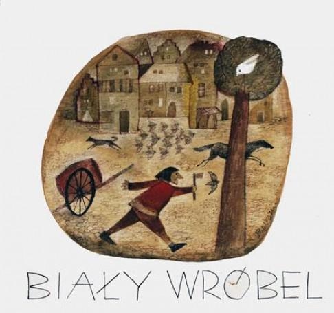 Illustration: The white sparrow (Bialy wrobel), 1967