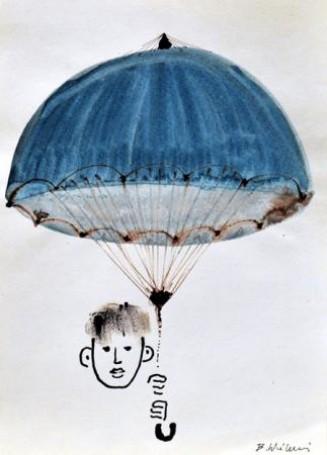 Illustration: Stars under the rain (Gwiazdy pod deszczem), 1967