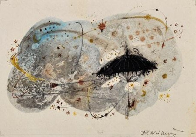 Illustration: Stars under the rain (Gwiazdy pod deszczem), 1967,