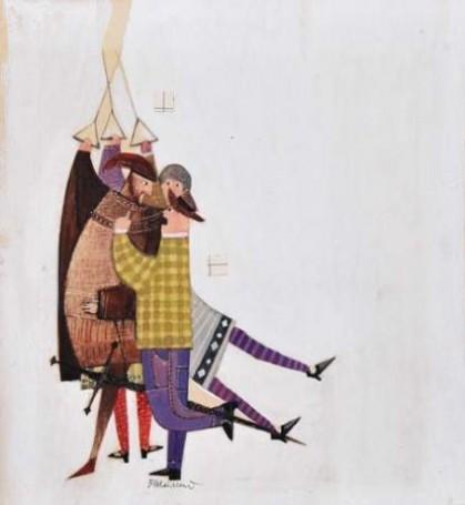 Illustration: (Malowana awantura), 1970 r.