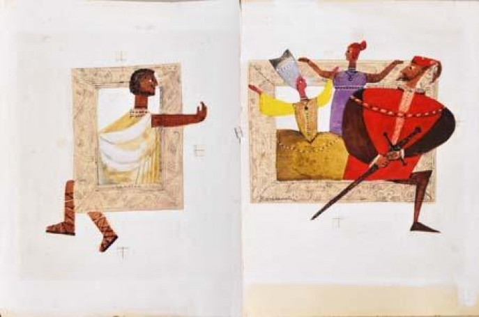 Illustration: (Malowana awantura), 1970