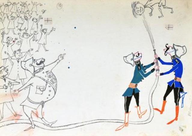Illustration: (Tadek niejadek), 1960