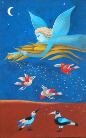 Ilustracja: Błękitny wiatr