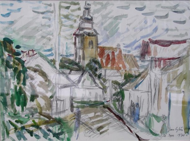 Stary Sacz, a Church, 1971