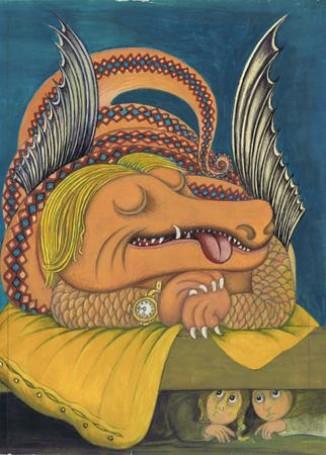 Bez tytułu, 1969 r., ilustracja do książki: Jerzego Ficowskiego