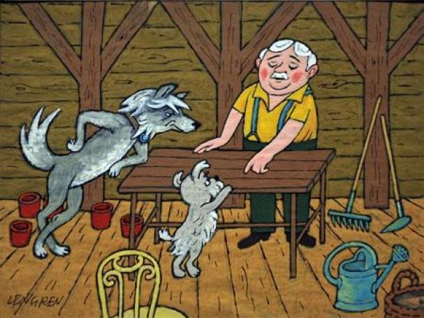 Illustration for children's book