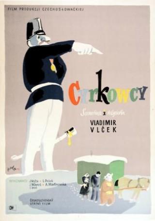 Cyrkowcy, 1954 r.