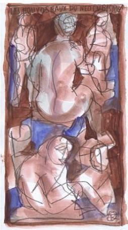 Les houyoseaux du neo cubisme