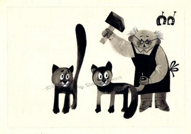 Ilustracja: Dziwne zdarzenie