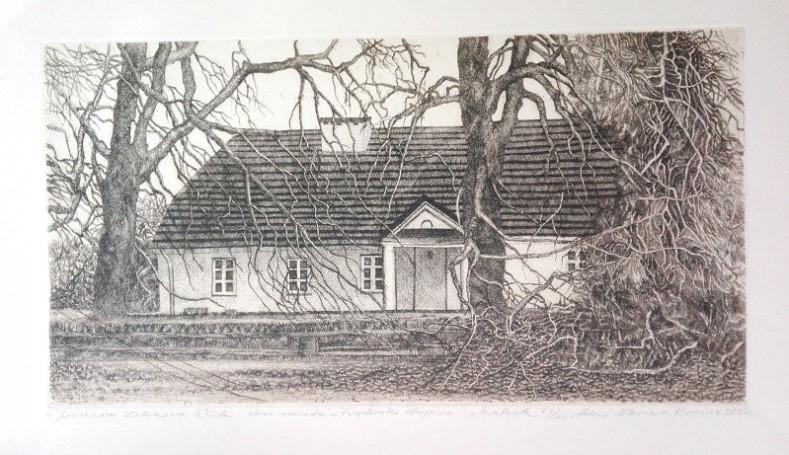 Jesienna Żelazowa Wola -dom narodzin Fryderyka Chopina, 2002 r.