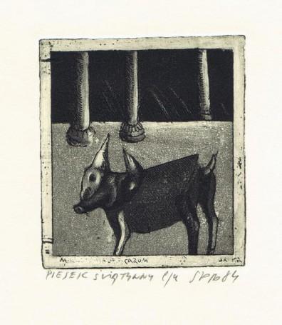 Piesek świątynny, 1984 r.