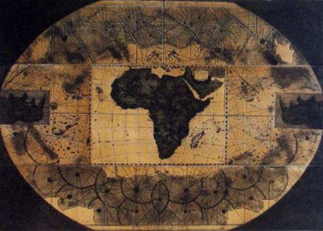 Mapa Afryki, 1998 r.