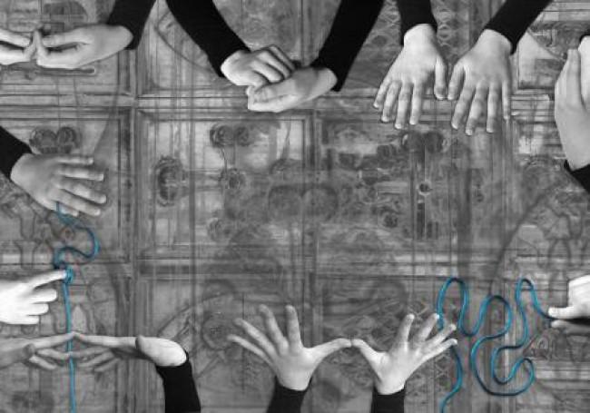 Labirynt znaczeń -gesty iznaki, 2009 r.