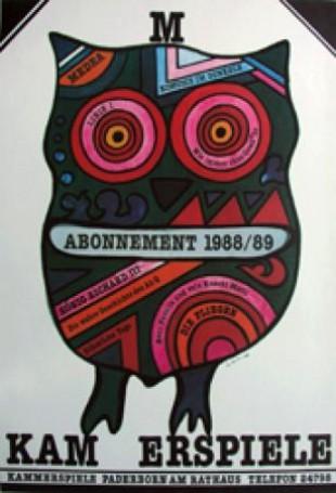 Kam Erspiele. Abonnament 1988/89