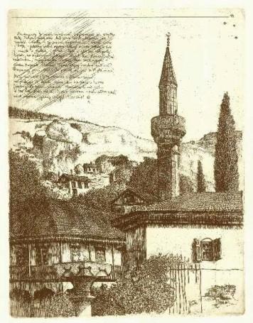 W Bachczysyraju (List zKrymu), 2006 r.