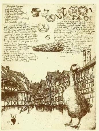 Petite France (List zeStrasburga), 1986 r.