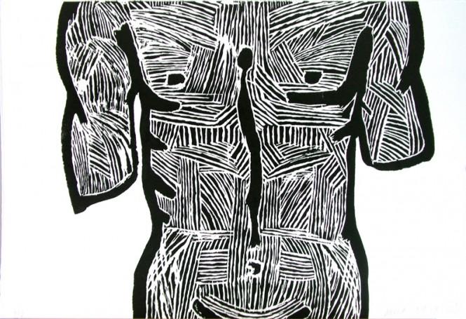 Mężczyzna -tors, 2003 r.