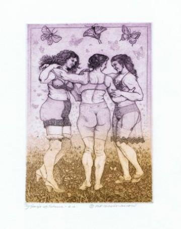 Trzy Gracje wg. Rubensa