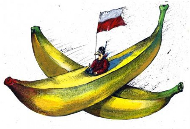 Banana jet
